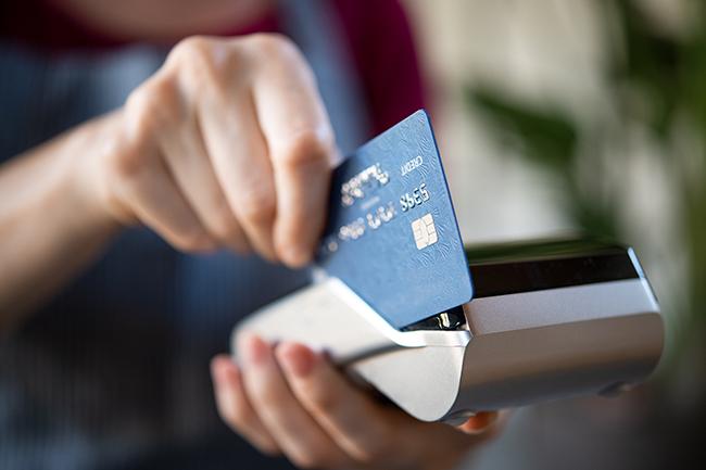 Акт оплаты кредитной картой.